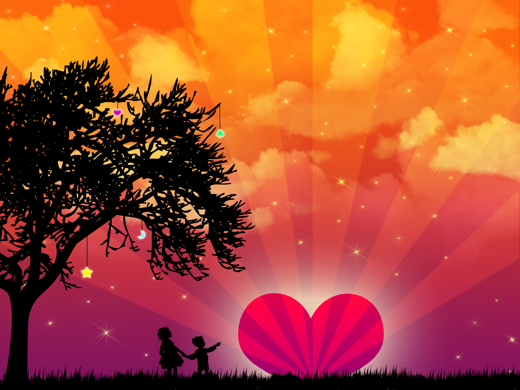 Widescreen Wallpapers of Love : Top Pics