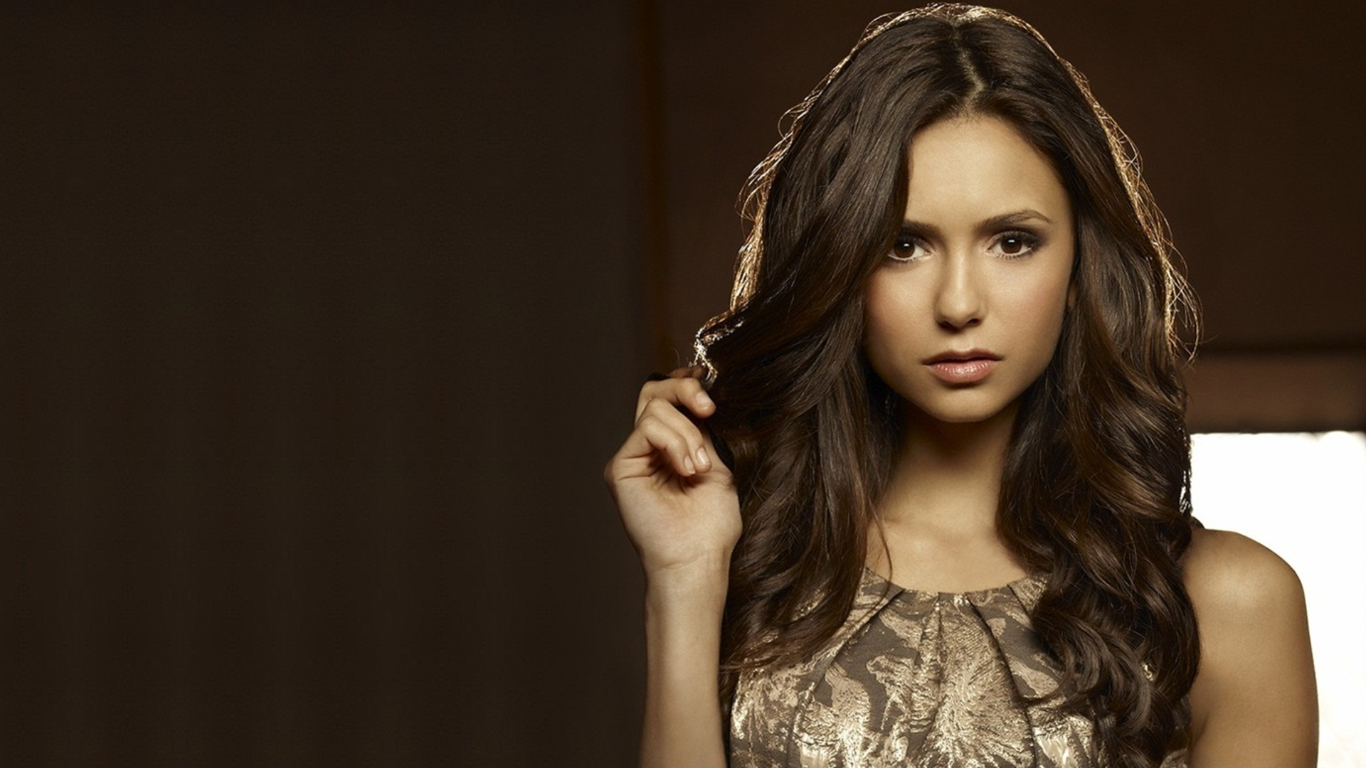 High Quality Image of Nina Dobrev » 1920x1080
