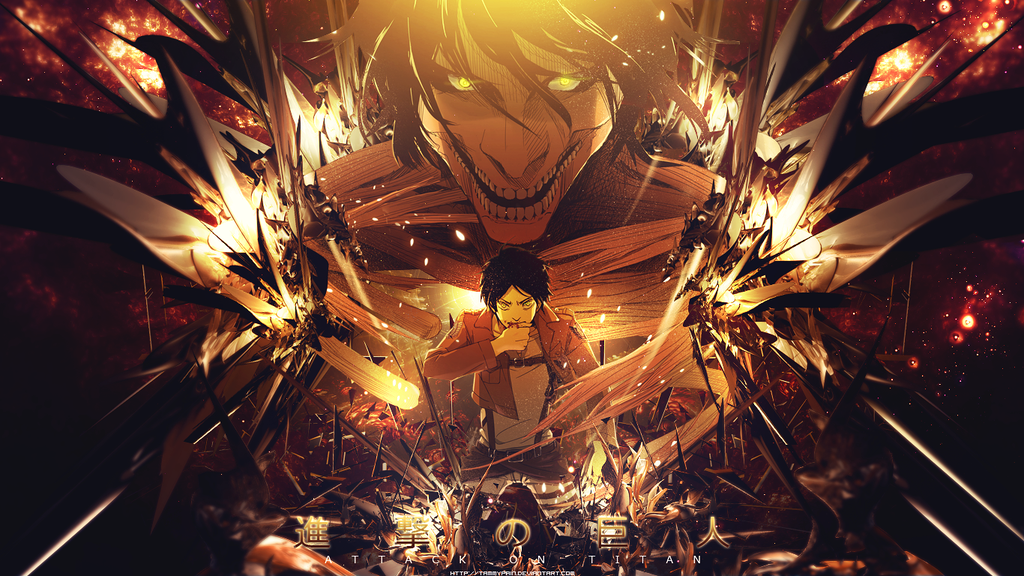 Anime Wallpapers Attack On Titan HD 4K Download For Mobile iPhone & PC