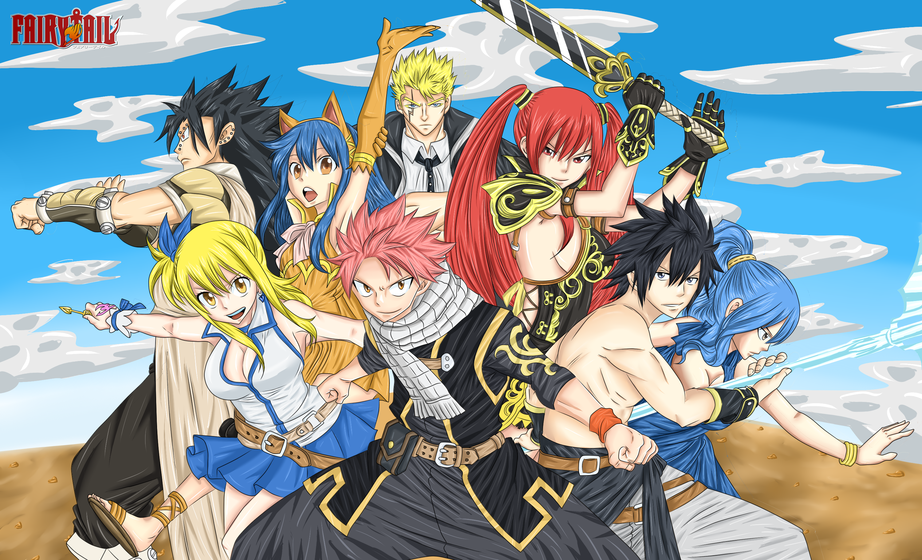3000x1821 » Fairy Tail Wallpapers