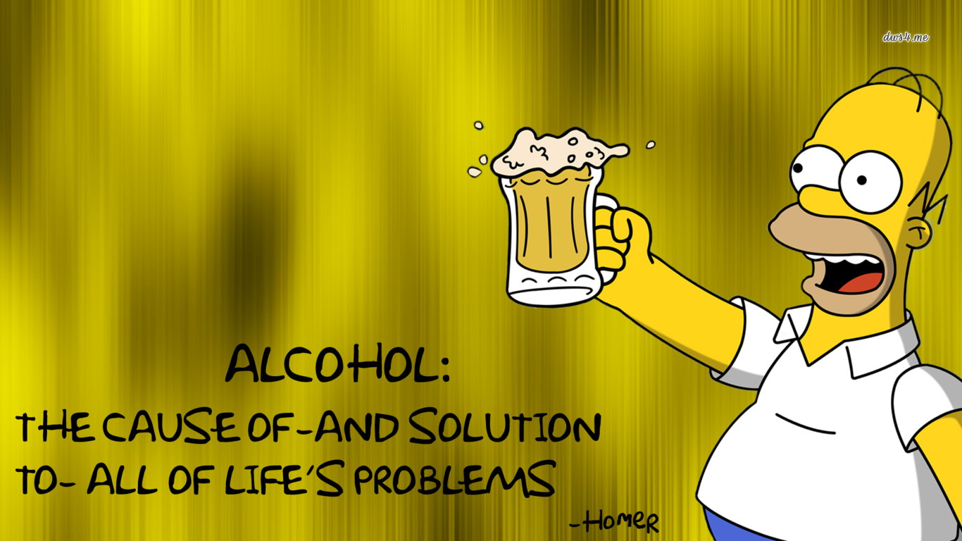 Widescreen Homer Simpson Images | Shawnee Auclair, 1366x768 px