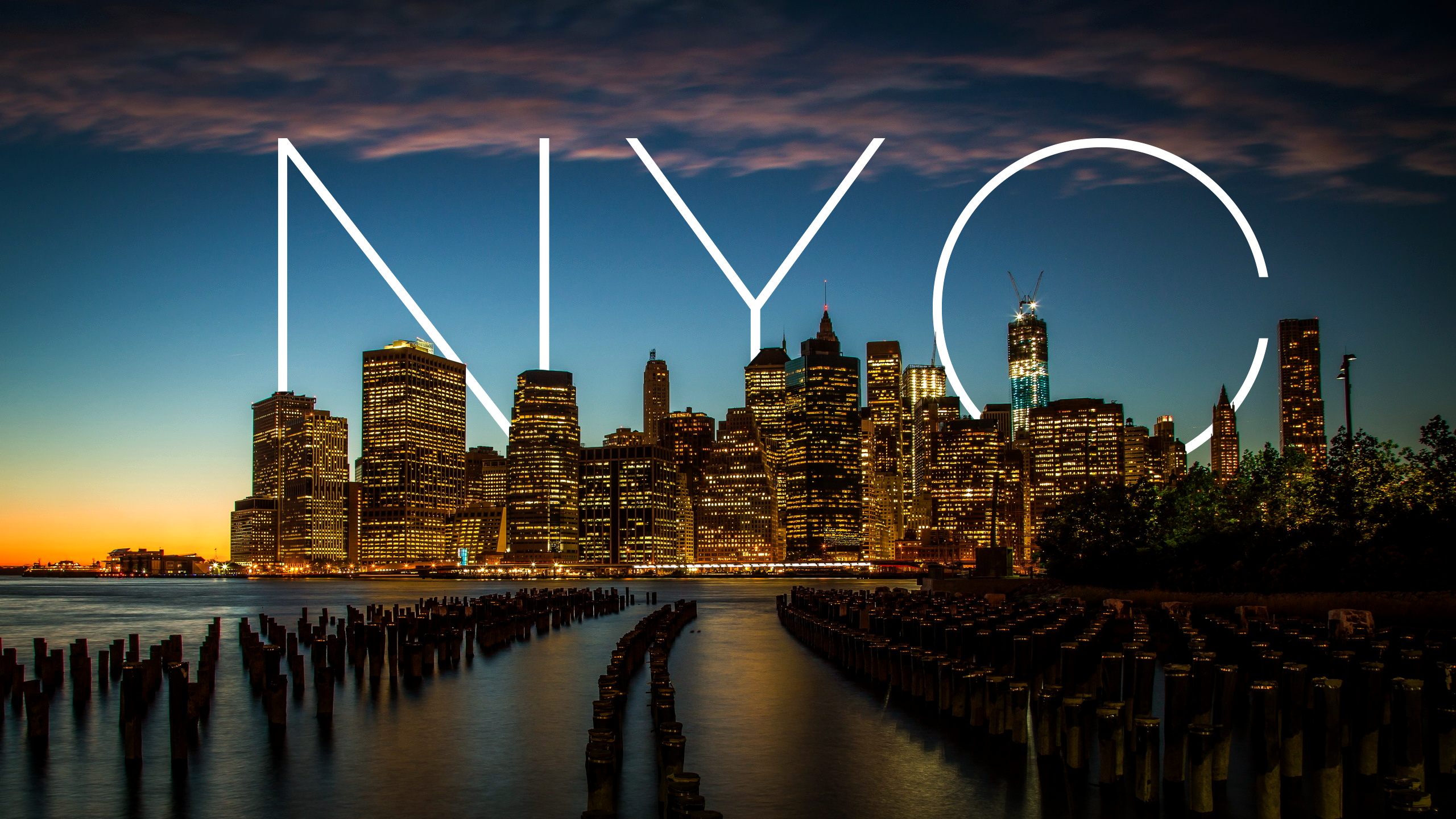 PC 2560x1440 New York City Wallpaper, 7-THemes Graphics